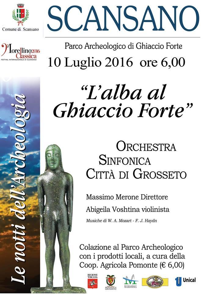Alba a Ghiaccioforte 10 Luglio 2016
