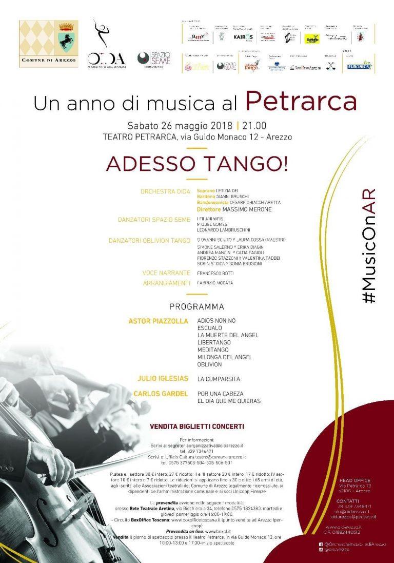 Manifesto Adesso Tango