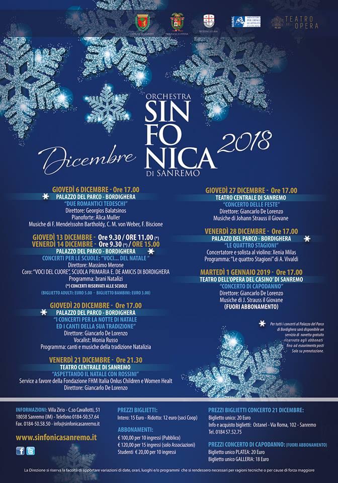 Natale 2018 Sanremo