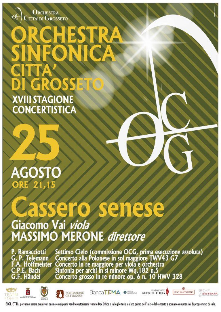 orchestra 25 agosto